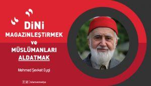 Mehmed Şevket Eygi'den dikkat çeken yazı
