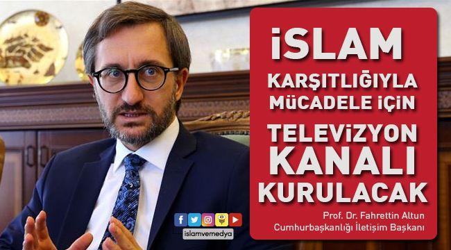 İslamofobiye Karşı TV Kanalı Kuruluyor