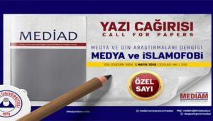 Medya ve Din Araştırmaları Dergisi yayın hayatına başlıyor