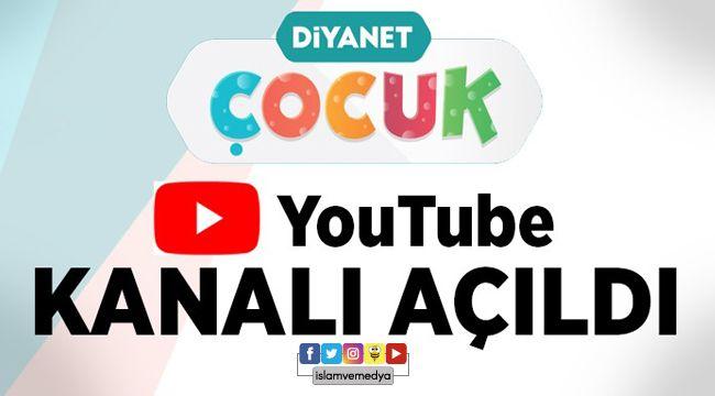 Diyanet Çocuk Youtube Kanalı açıldı.