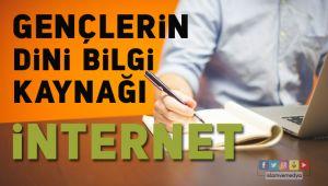 Dini bilgi kaynaklarında internet ilk sırada