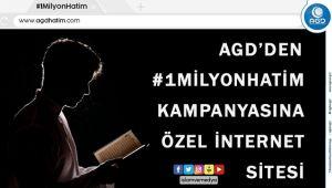 AGD'den 1 Milyon Hatim kampanyası