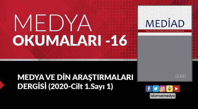 Medya Okumaları (16): Medya ve Din Araştırmaları - Cilt 3 - Sayı 1
