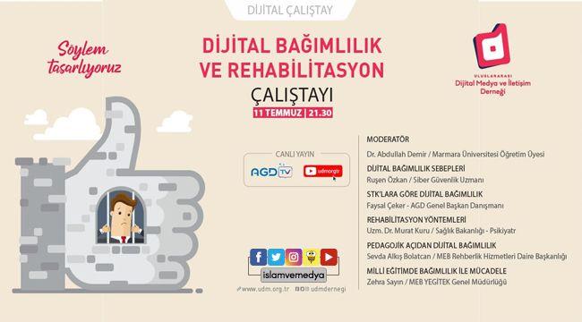 Dijital Bağımlılık ve Rehabilitasyon Çalıştayı